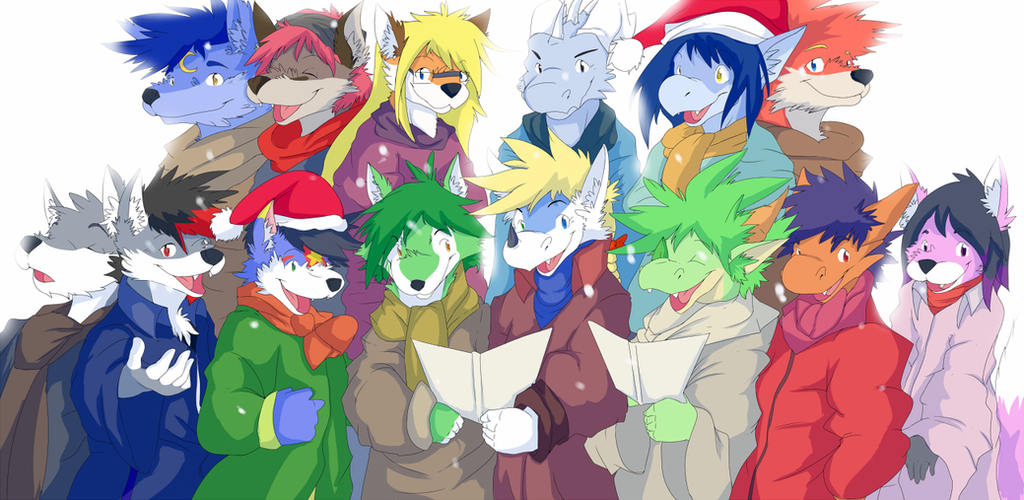 Christmas Elves :3 by JCFox
