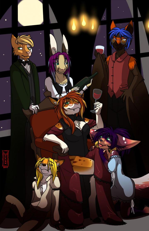 Vampire Meet by JCFox