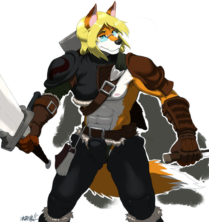 Fox Warrior :3 by JCFox on DeviantArt