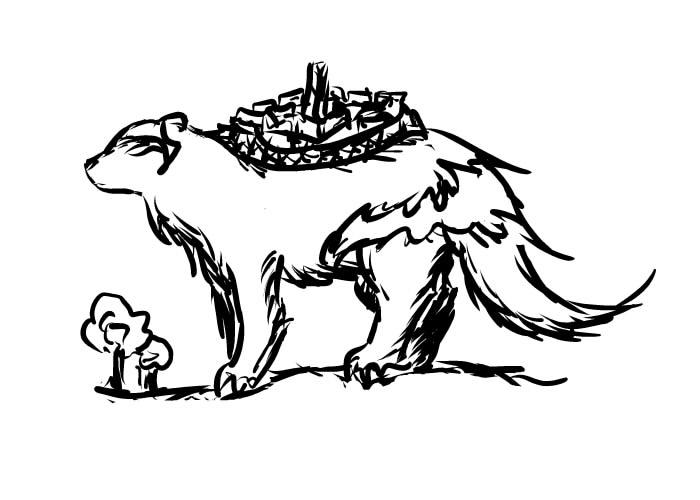 Sketch - loosy wolverine by Mitrysa