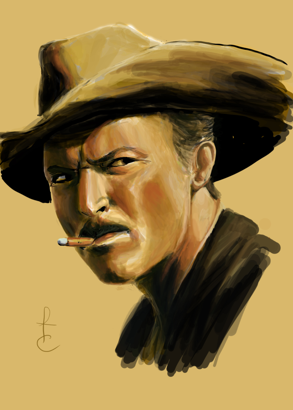 Lee Van Cleef by khakue on DeviantArt
