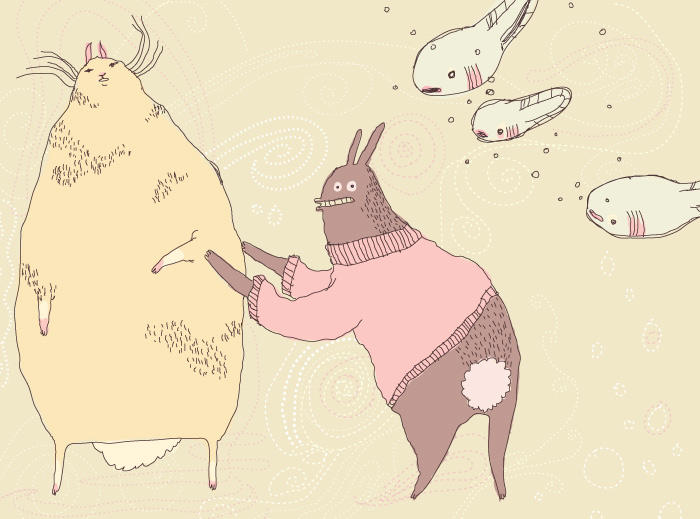 tadpoles by kuniklo