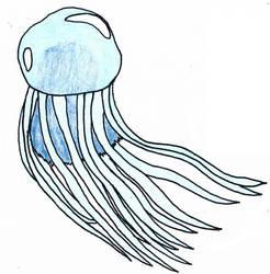 Aqua bubble jellyfish monster