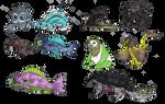 Shiny elemental monsters 24