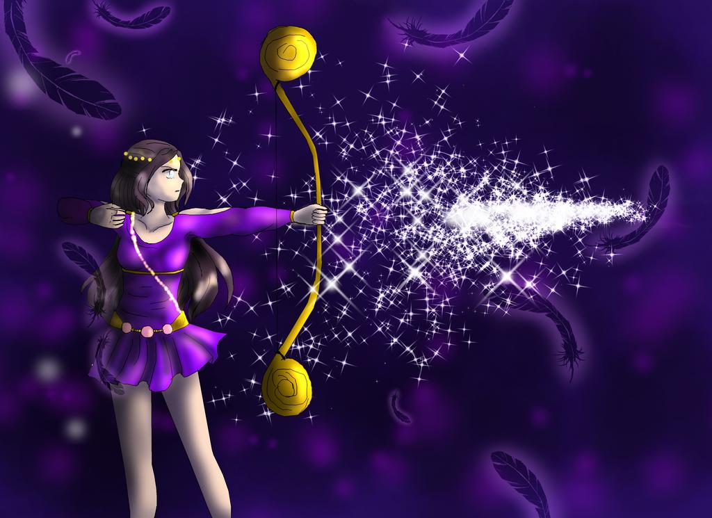 Diana's Arrow by SolarMiko