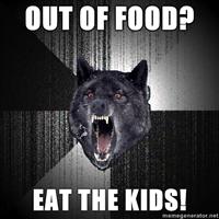 Insanity Wolf by xManipulationOfColdx