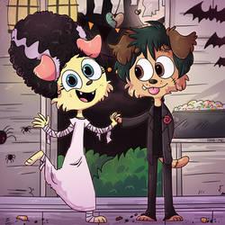 Fur-ankenstein and his Bride
