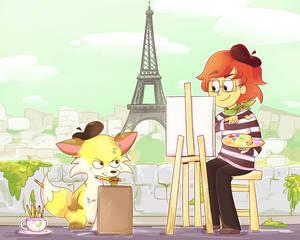 Rouge and Jaune Monet