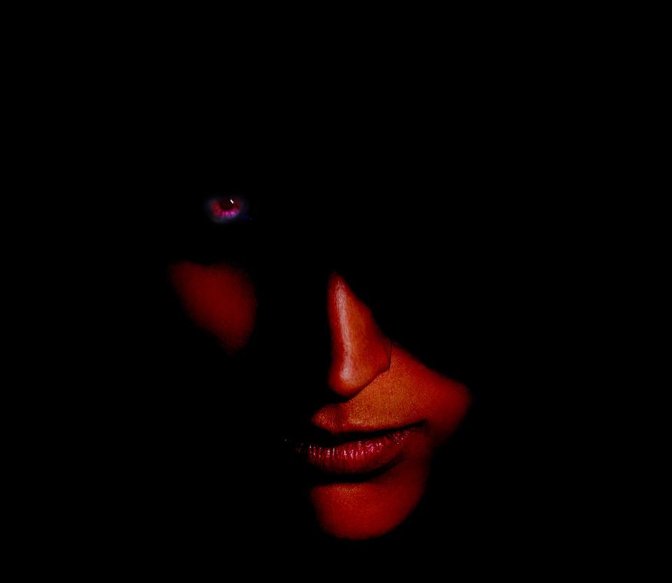 Demon face by jan222 on DeviantArt