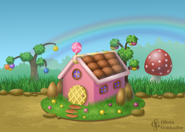 Candy house by helur