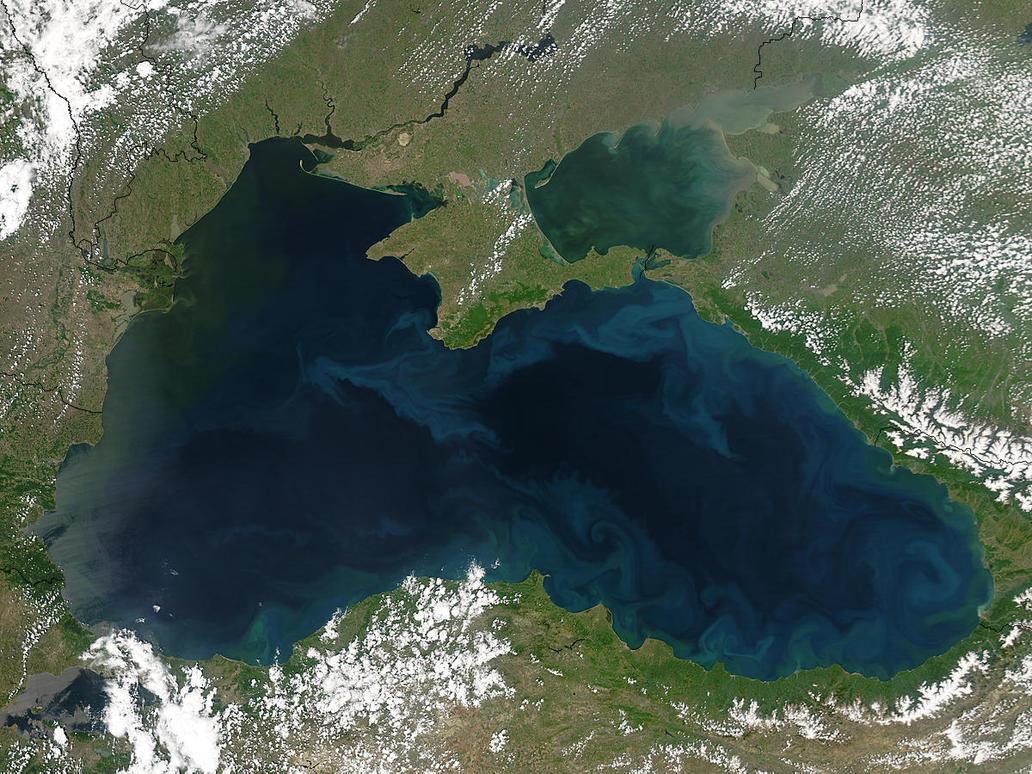 The Black Sea by Onatopa