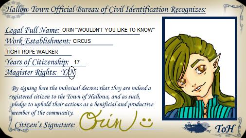 TOH: Orin ID by xXSaka-AkariXx