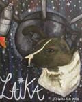 Laika Memorial Painting