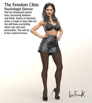 The Femdom Clinic/ Psychologist Eleonore