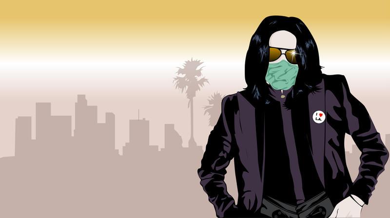 Jacko in LA by misterunlucky