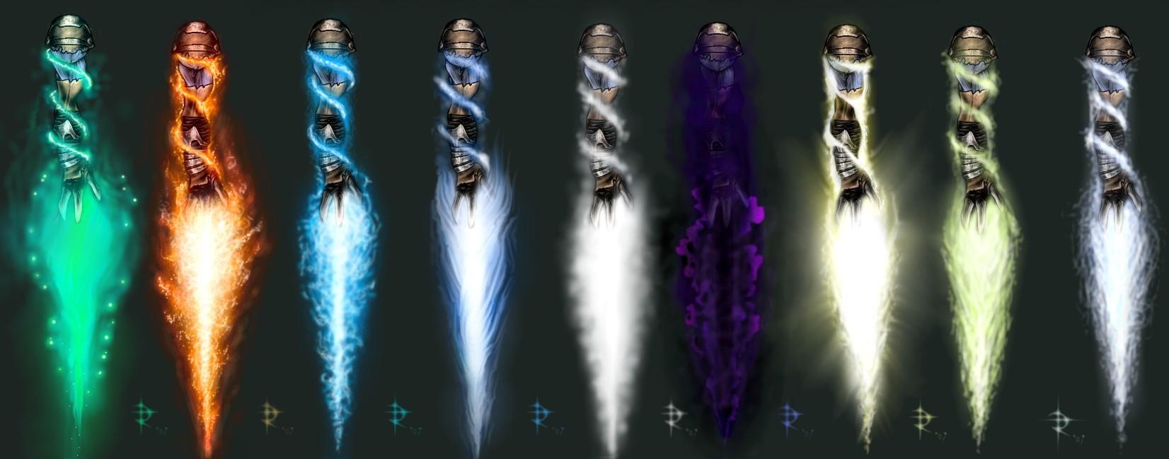 Raziel Elemental Reavers