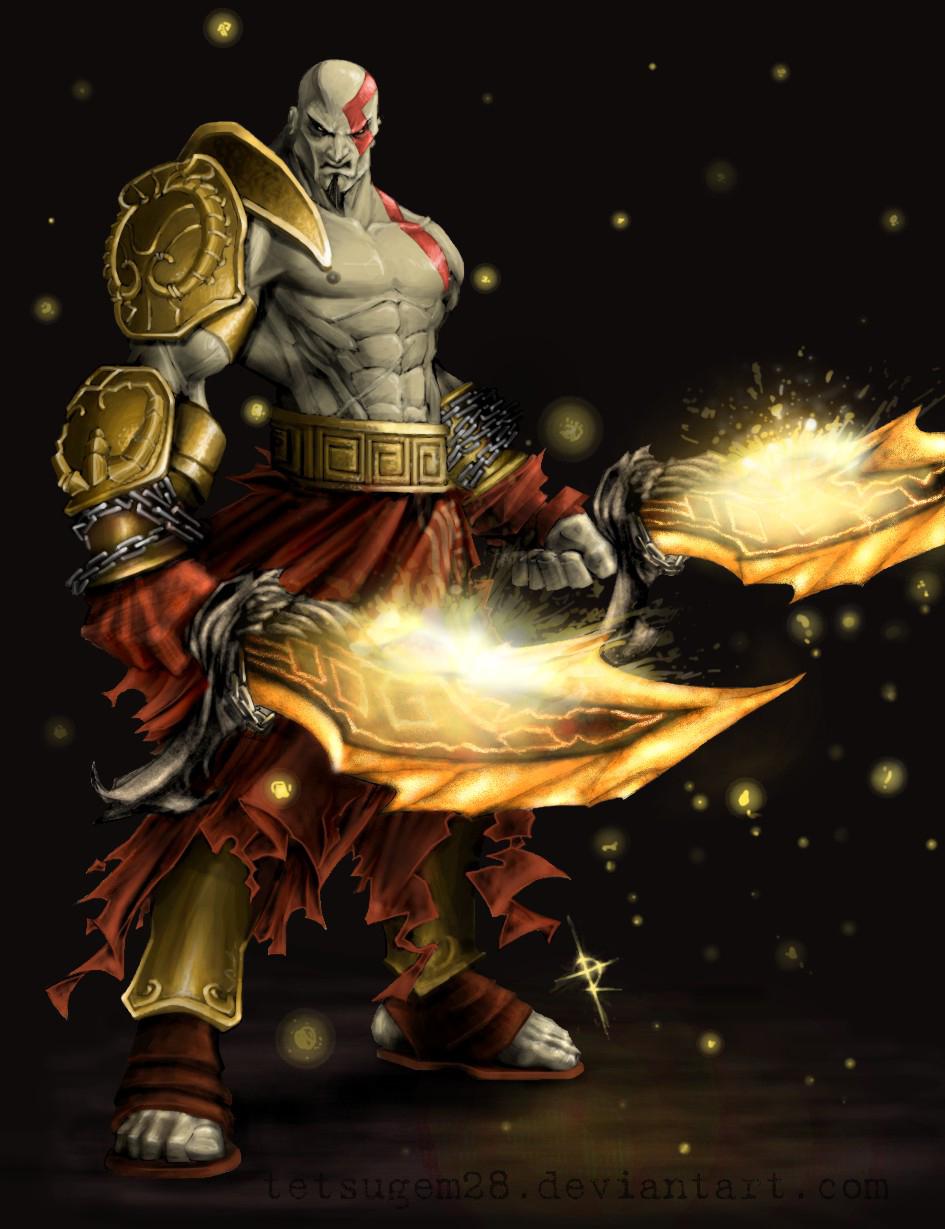Kratos by Tetsugem28
