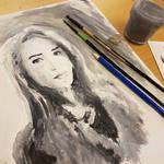Acryl portrait