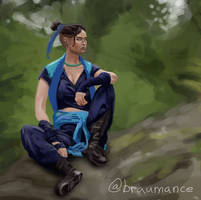 DnD Critical role fanart of Beauregard.