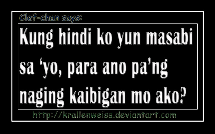 Quotes About Friendship Tagalog 2014 FRIENDSHIP -TAGALOG- b...