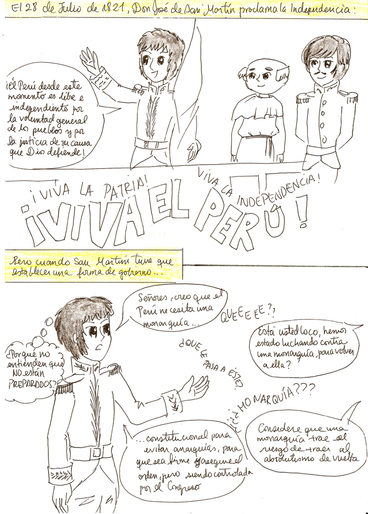 Independencia del peru pag 9 by annieli on deviantart