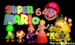 Super Mario 64 C4D Pack