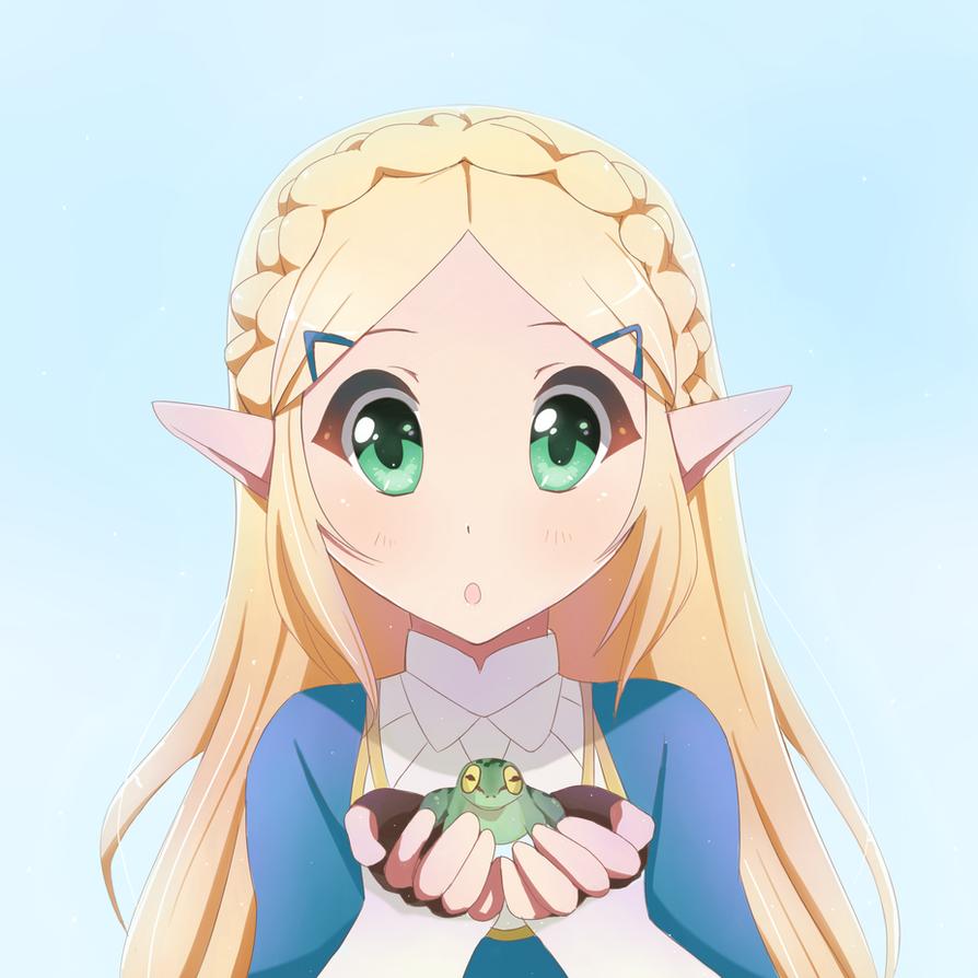 Zelda by wolfychu