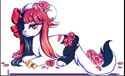 ribbons and petals