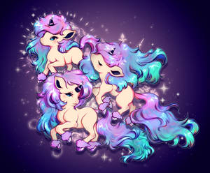galarian ponytas