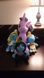 Twilight Sparkle's Blue Crew