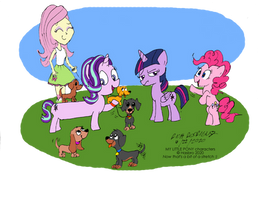 Starlight Glimmer Goes To The Dogs (Color)