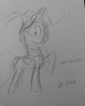 Quick Sketch: Lady Fausticorn