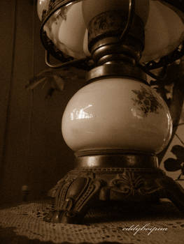 shade of the lamp