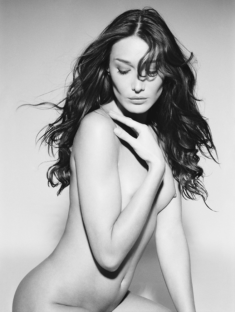 Nude Carla Bruni for Monachrome by Vanessa von Zit by VanessavonZitzewit ...