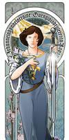 Jehanne. Joan of Arc by CjBear