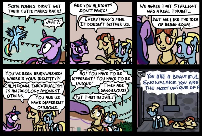 Dissidents [post-episode strip]
