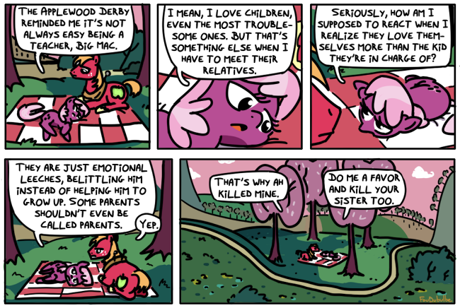 Rearing Impaired [post-episode strip]