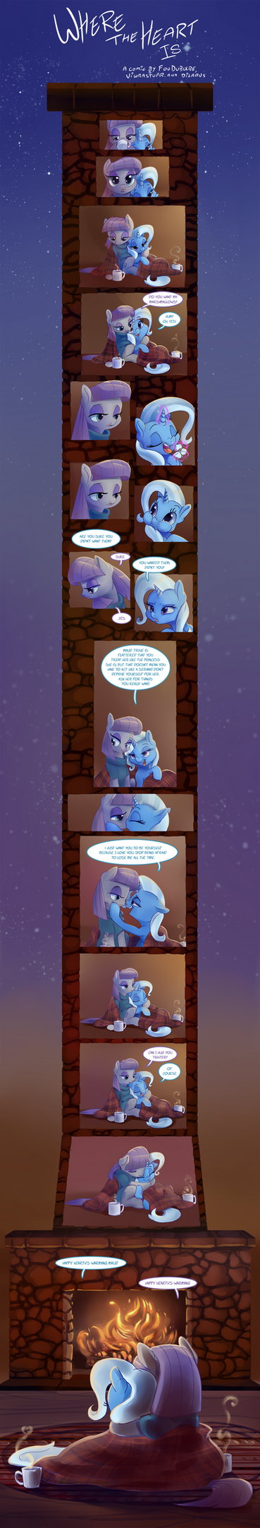 Where the Heart Is by FouDubulbe