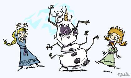 The Snowman (Frozen)