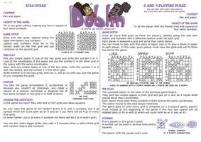 Doblin - A solo and multiplayer pen and paper game
