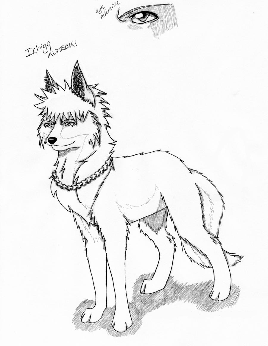 Animae Dog - Free Colouring Pages