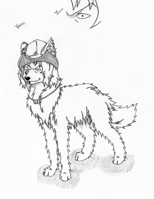 one piece wolves yorki by mrsayasegawa on deviantart