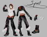 Squall outfit entry