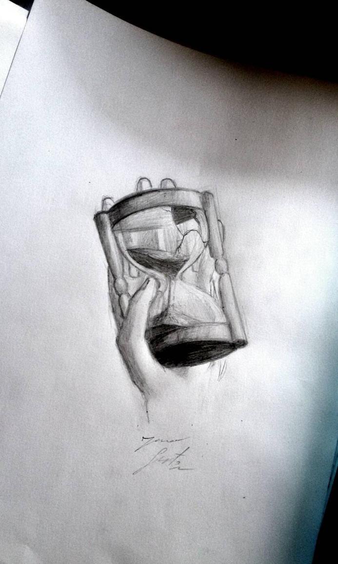 broken time by PaperSaurus