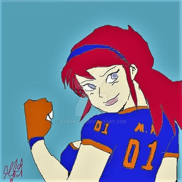 Girl Soccer by Harorudo