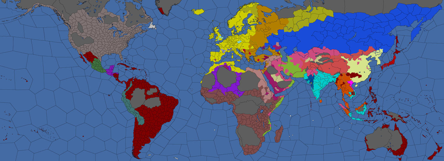 Religion Map Of AD The Desert Sands By TheSlovakPatriot On - Religion map