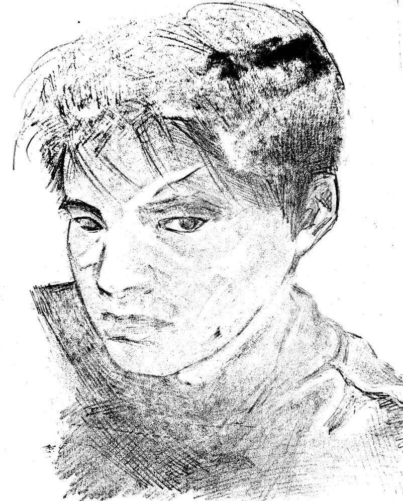 my portrait by datgagon