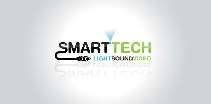 smarttech logo design