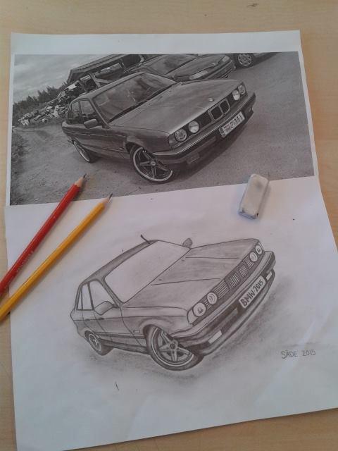 BMW DRAW by kissthehellstorm