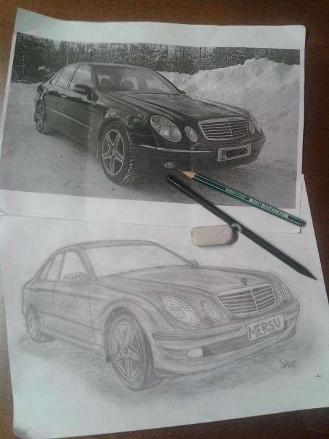 Mercedes-benz by kissthehellstorm